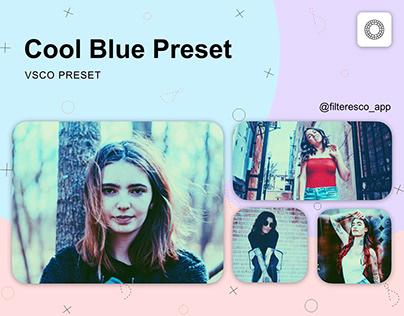 Cool Blue - VSCO Preset - Filteresco app
