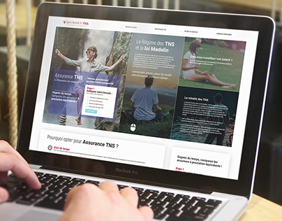 Website UI design for insurance comparator