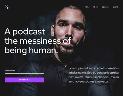 Podcast WordPress Template