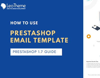 How To Use PrestaShop Email Template - Leotheme