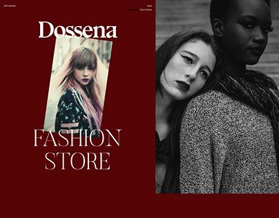 Dossena - Fashion mobile application