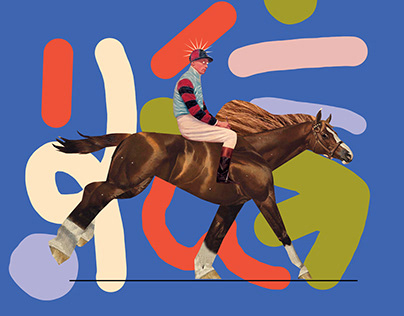Horse Collage Animation