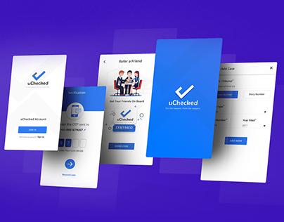 uCheck App Landing Page