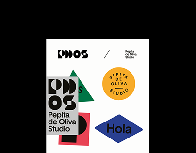 Pepita de Oliva Studio / Branding & Identity