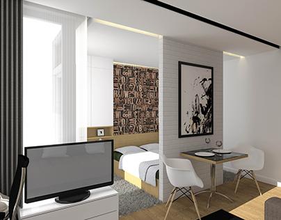 32sqm 1 room apartment in Oradea, Romania