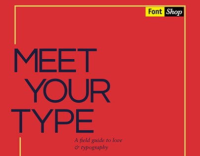 MEET YOUR TYPE - Book Redesign