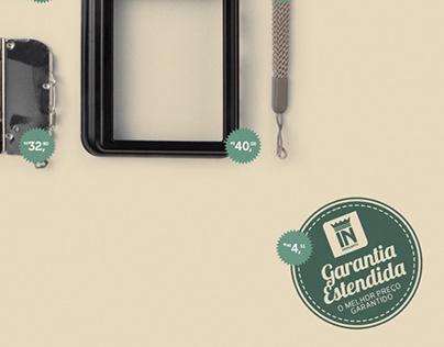 Anúncio Garantia Estendida - Lojas Insinuante