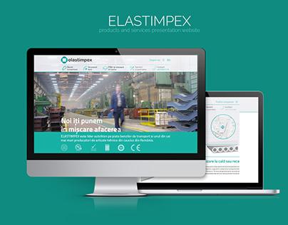 ELASTIMPEX - Presentation Website