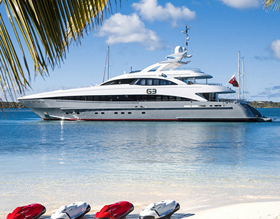G3 - 44m Mega Yacht, Main Saloon and Sundeck Refit