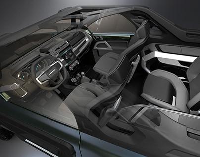 Troller T4 Xtreme Interior