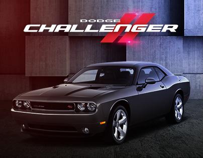 Dodge Challenger iPad Ad
