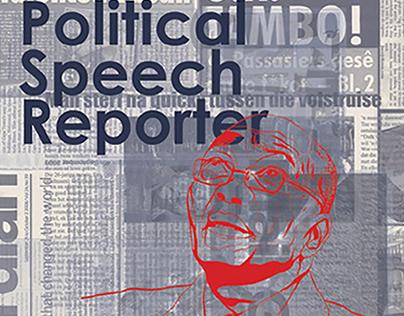 Political Newspaper Design