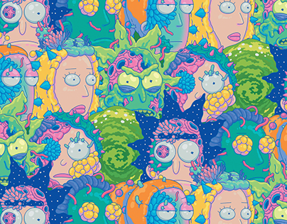 Rick and Morty Style Guide