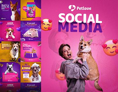 Social media - Petlove Petshop