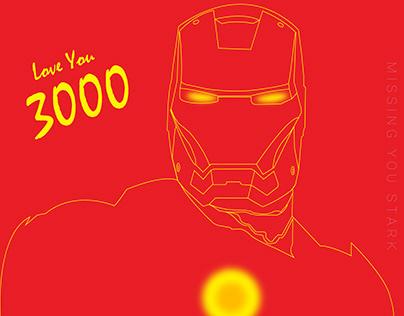 LOVE YOU 3000