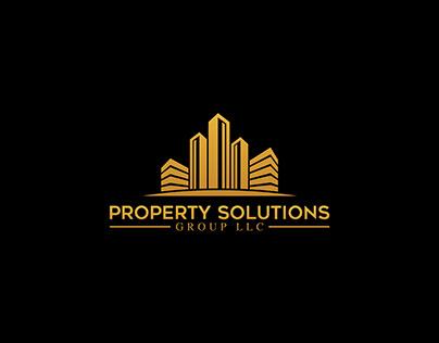 Property SolutionsGroup - Real Estate-Logo Design.
