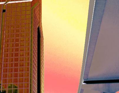 Academic Project 1-Dubai Dusit Thani Hotel (Photoshop)