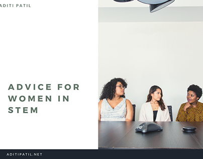 Aditi Patil | Advice for Women in STEM