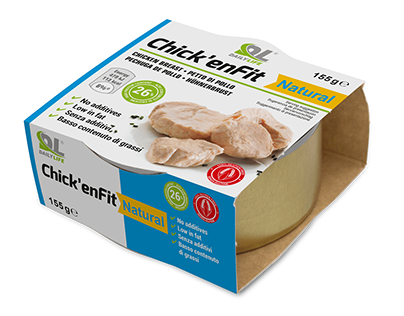 Chick'enFit - Pollo proteico in scatola