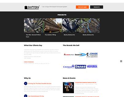 Total Construction Supplies Website