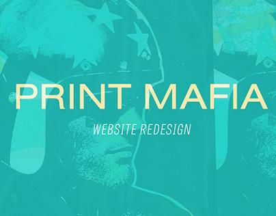 Print Mafia Redesign