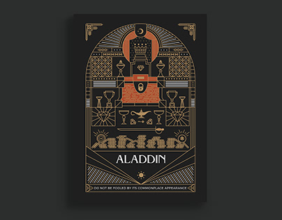 Movie Poster - Aladdin