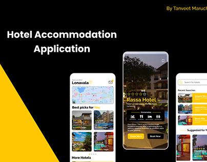 Hotel Accommodation App