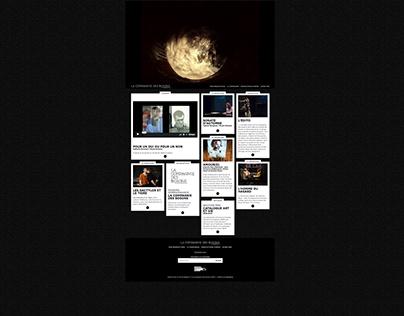 Webdesign: Les Bosons   Brussels