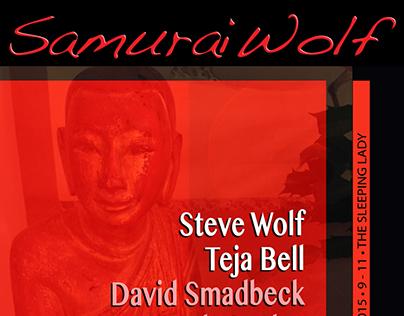 Samurai Wolf Rock Posters: 2015