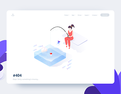 Fishout - Web page error