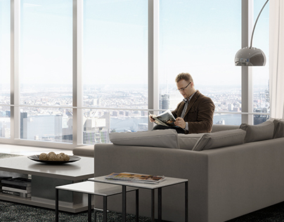 Lounge in Office - New York