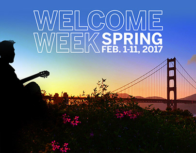 University Welcome Week Graphics