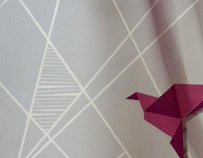 Mural at Ardin acrobatics studio