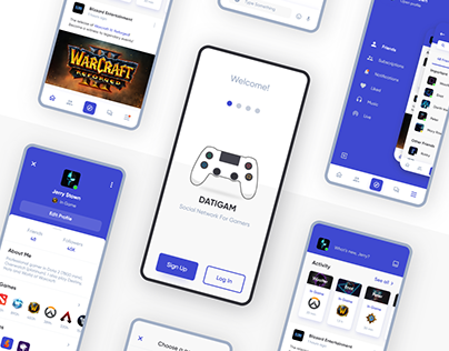 DatiGam - Social Network For Gamers