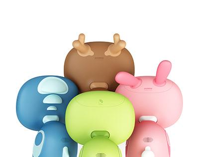 Pudding plus | 兒童教育機器人