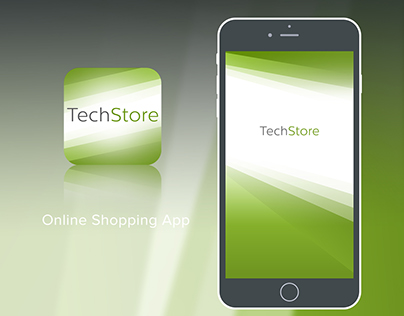 "Mobile App ""TechStore"""