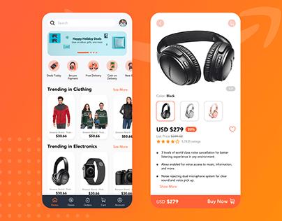 UI UX Design | Amazon Redesign Challenge 2020