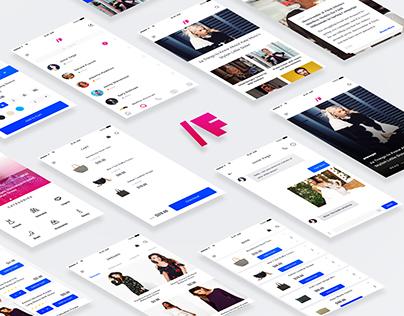 /F Fashion App UI Kit
