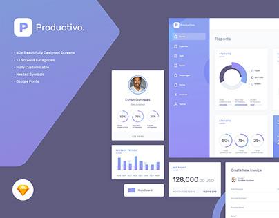 Productivo Web Dashboard