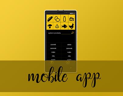 """,,Borok kulinarny""""- culinary app"""
