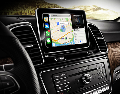 Mercedes + Apple