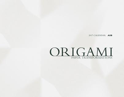 2017 Calendar ORIGAMI