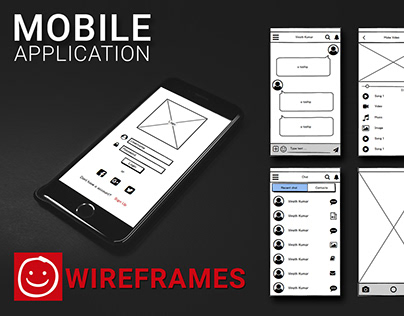 Messaging App Wireframe