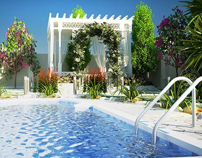 Villa Garden Landscape Design