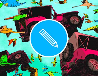Illustration // The Summer Pop