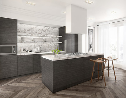 Luxury CG apartment | Andrea Kantelberg