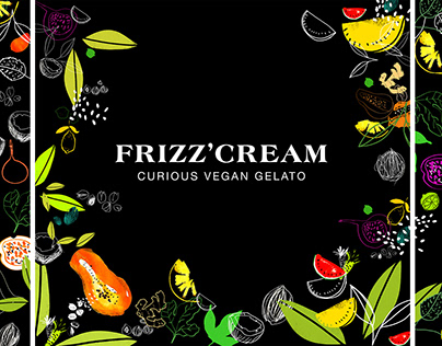 Frizz'cream illustrations