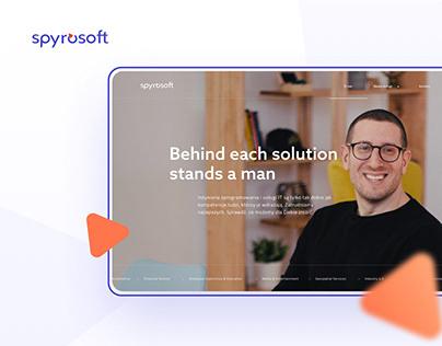 Spyrosoft – Website