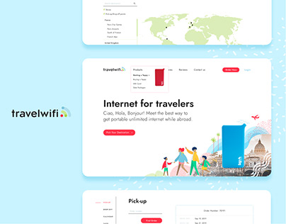 TravelWifi: e-commerce platform for portable internet