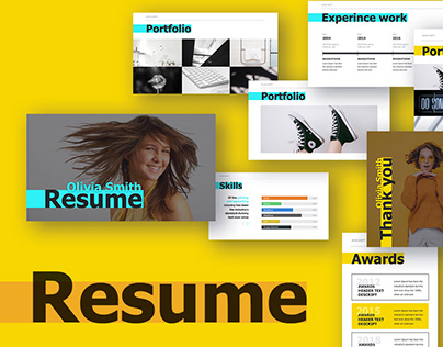 Resume Presentation template